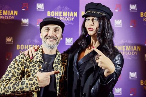 Entusiasmo ed emozione all'anteprima italiana di Bohemian Rhapsody a #Milano!