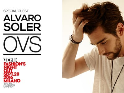 Alvaro Soler Special Guest di OVS per la Vogue Fashion?s Night Out